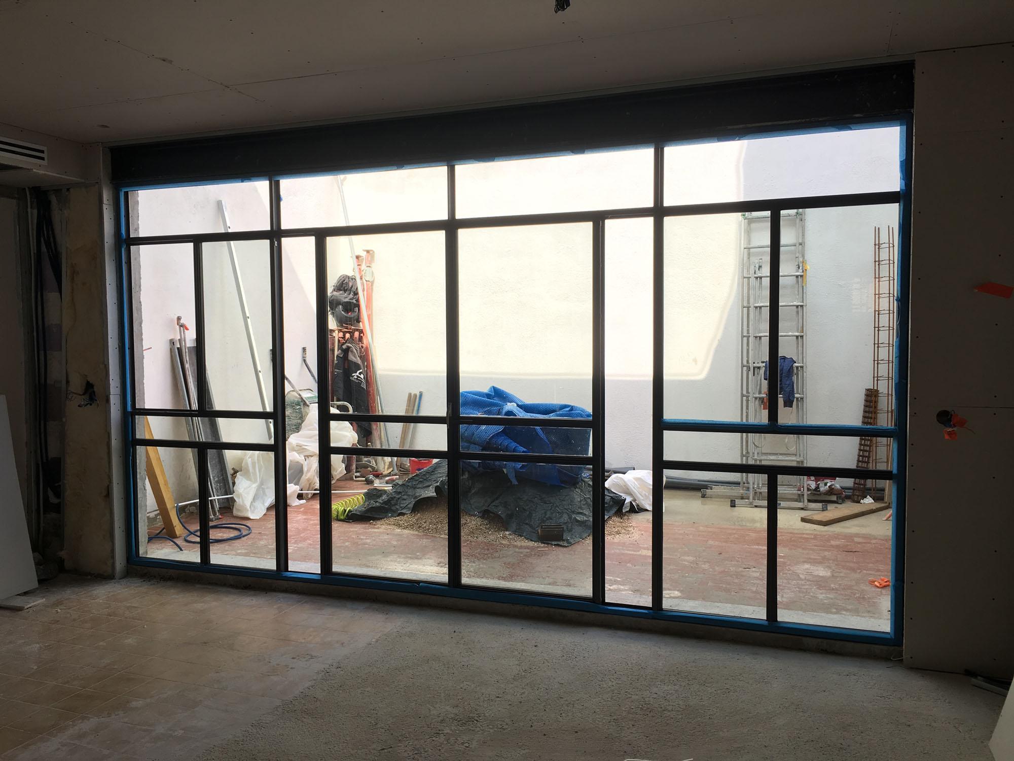 Rénovation et réalisation d'une verrière pour patio dans le 7° arrondissement de Marseille