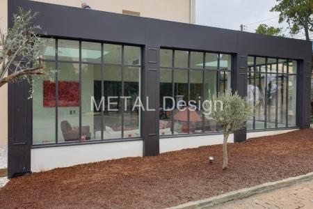 Fabricant et installateur de veranda en acier