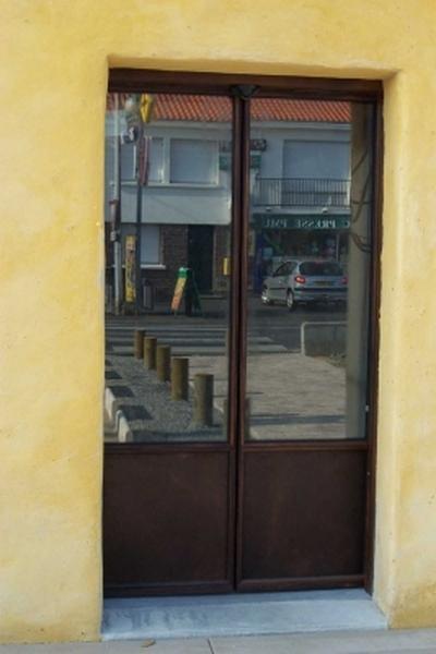 Porte acier a Aix en provence