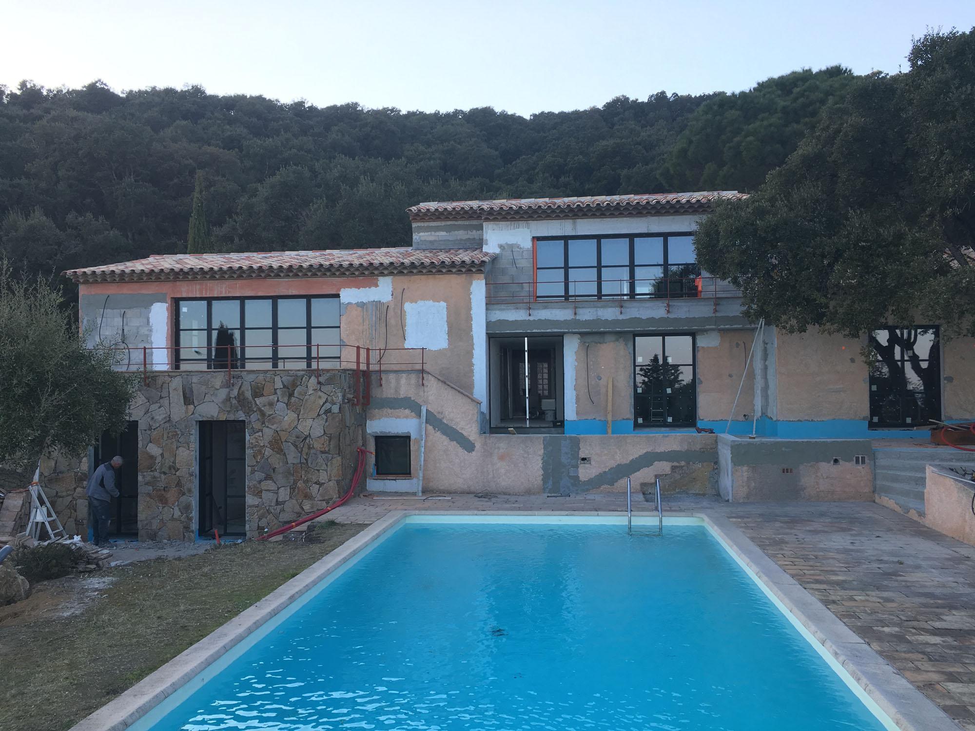 Rénovation d'une maison Port Grimaud - Sainte Maxime 83