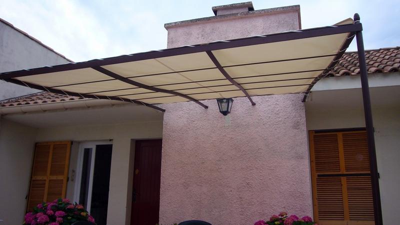 Fabrication de pergola, Tonnelle ou terrasse couverte dans le 13
