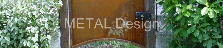 Portillon acier sur mesure assorti à son partail porche de Marseille