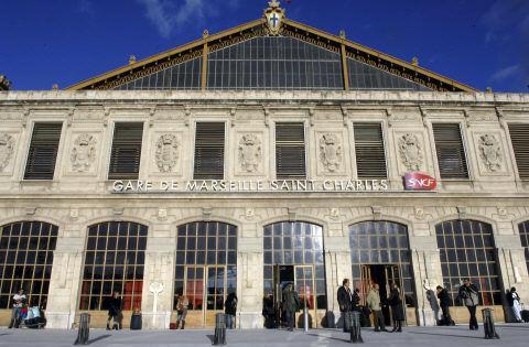 Gare Saint Charles de Marseille : 850 t d'acier