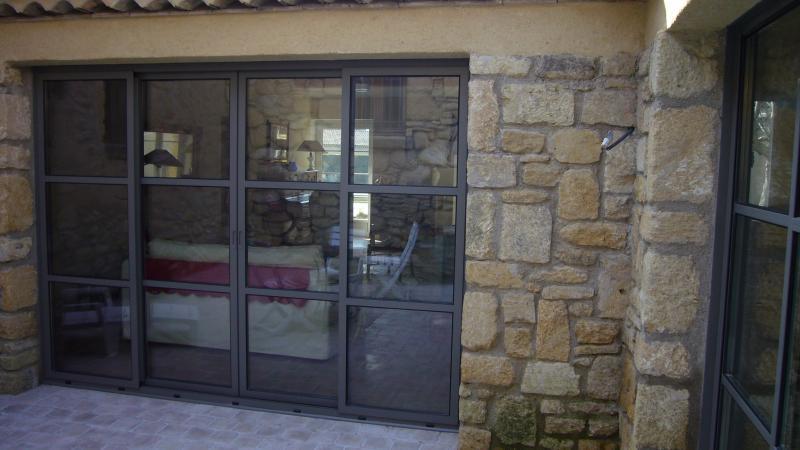 coulissant acier jansen ou rp technik installation baie. Black Bedroom Furniture Sets. Home Design Ideas