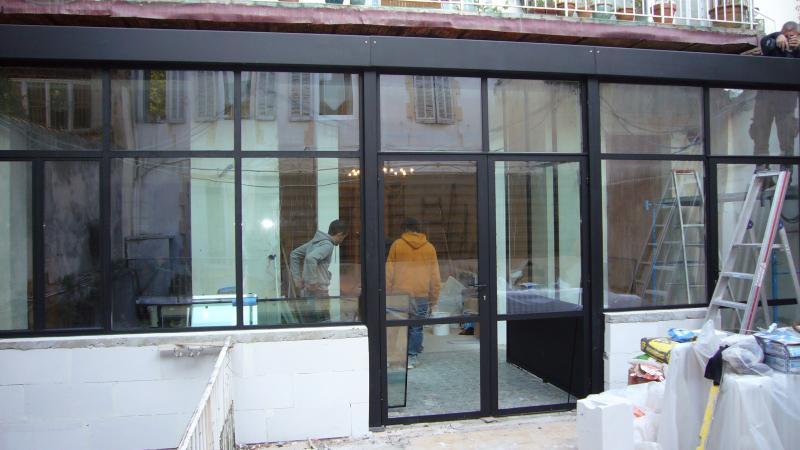 veranda acier et rupture de pont thermique vente. Black Bedroom Furniture Sets. Home Design Ideas